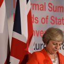 Brexit replay? England World Cup win more likely, Britain's Theresa May says