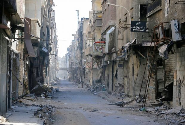 Syrian regime wants Palestinian refugees back in Yarmouk