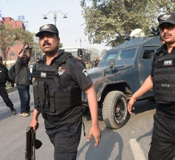 Blast wounds 6 at religious gathering in Karachi in Pakistan