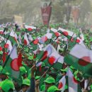 Bangladesh PM Hasina seeks people's support at victory rally