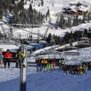 2 killed, 22 injured in large fire at French ski resort