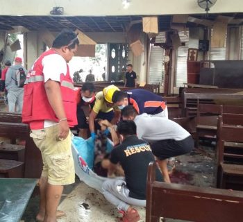 Indonesia seeks confirmation over Philippine cathedral suicide attack