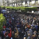 Thousands protest president fifth term bid in Algiers