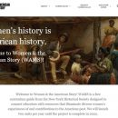 New website for women's history to launch Friday