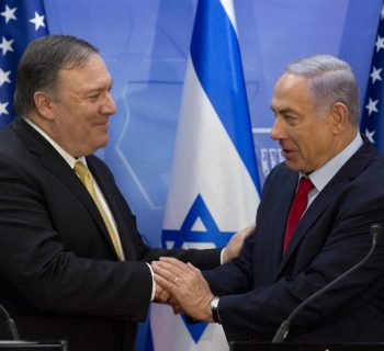 Netanyahu and Pompeo vow to counter Iranian aggression