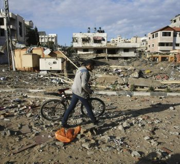 Tense calm in Gaza after Israel, Hamas exchange heavy fire