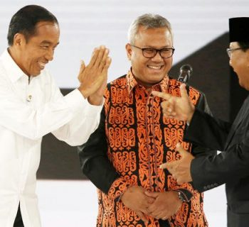 Opinion polls put Indonesian president on course for election victory