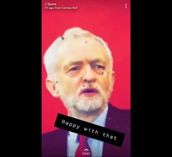 Probe after UK soldiers shooting at picture of Labour leader