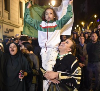 Victorious Algerian protesters want other officials out