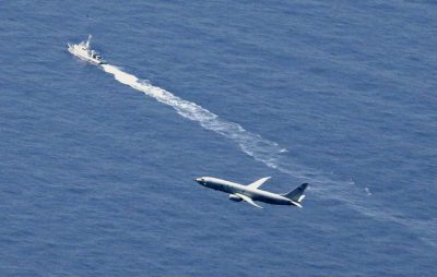 Japan, US struggle to find crashed jet and its 'secrets'