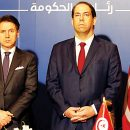 Italy's top leaders in Tunisia to shore up ties, security