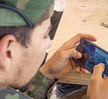 War on the phone front: Combat game all the rage in Libya