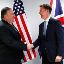 Britain warns of Iran-US conflict, Pompeo meets Europeans