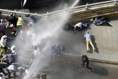 Lebanese budget protesters clash with security in Beirut