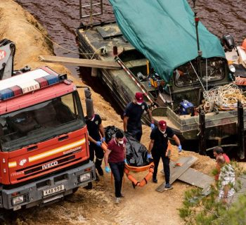 Cyprus police find third suitcase with body inside in lake