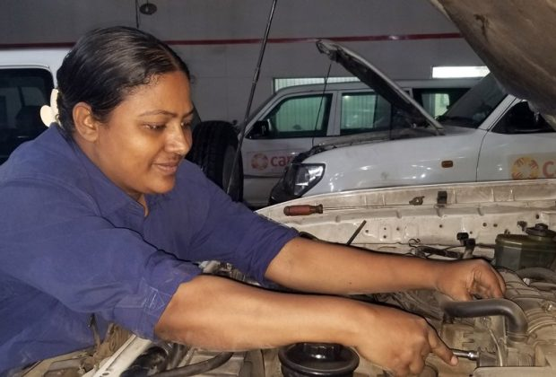 Bangladesh's first female motor mechanic