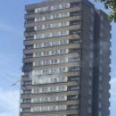 London Fire Brigade extinguishes fire near Grenfell disaster site