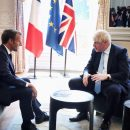 France and Britain aim to show unity on Iran as G7 looms