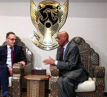 German foreign minister Maas arrives in Sudan