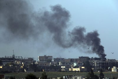 Turkish forces push deeper into Syria, with deaths rising