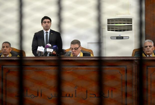 Egypt court hands out 6 death sentences on terror charges