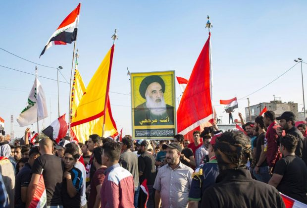 Iraq's top Shiite cleric says security forces responsible for keeping protests peaceful