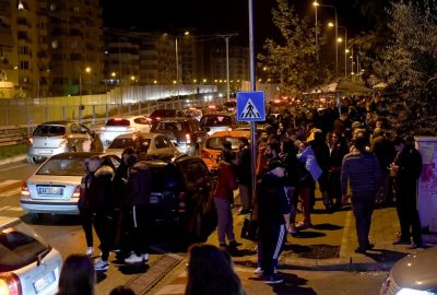 Strong quake hits Albania; at least 2 dead, 150 injured