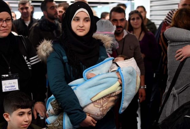 113 Syrian refugees welcomed in Italy